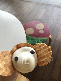 象のソフトクリームの写真・画像素材[1383425]