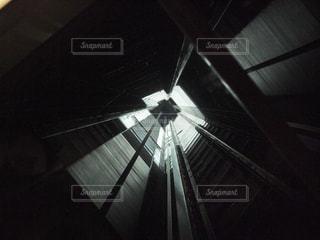 スカイツリー エレベーター天井の写真・画像素材[1391796]