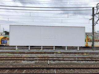 鋼のトラックの列車の写真・画像素材[1466217]