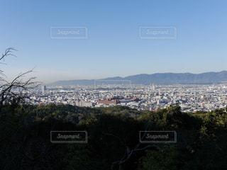 背景の山と木の写真・画像素材[1477724]
