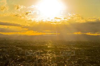 東京の夕日の写真・画像素材[1391778]
