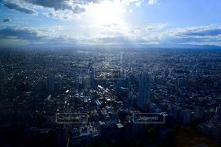 東京の青空の写真・画像素材[1391784]