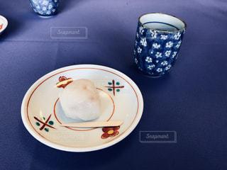 本日の茶菓子の写真・画像素材[1386622]