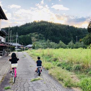 サイクリングの写真・画像素材[1415825]