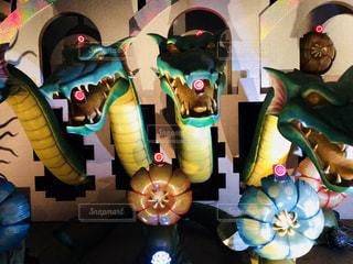 三体のドラゴン。の写真・画像素材[1450838]