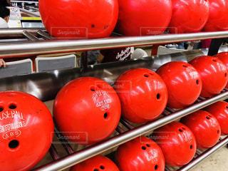 ボウリングのボールの写真・画像素材[1575256]