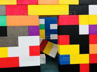 多色なブロックの写真・画像素材[1583866]