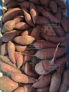 サツマイモの山の写真・画像素材[1602944]
