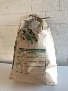 新米の米袋の写真・画像素材[1625408]