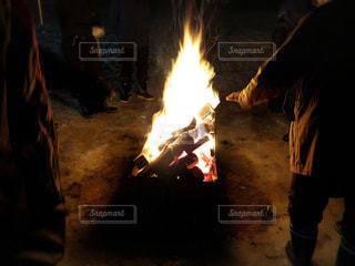 焚き火の写真・画像素材[1795298]