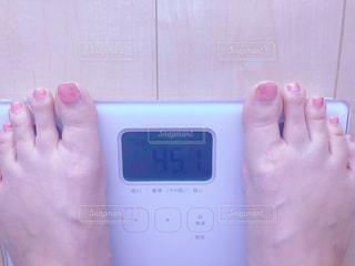 体重計の写真・画像素材[2158426]