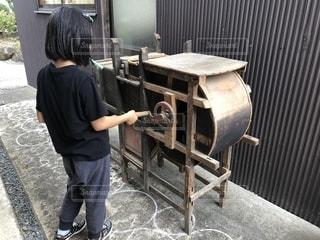 唐箕と平成生まれの写真・画像素材[2444695]