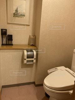 プライベート空間的トイレの写真・画像素材[3487098]