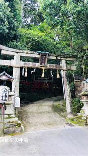 神社の先にはの写真・画像素材[1460806]