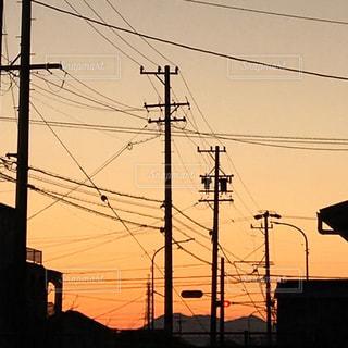 夕空の写真・画像素材[2366272]
