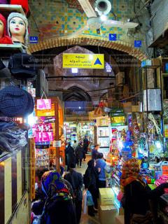 テヘランのバザールの写真・画像素材[1388855]