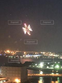 夜の街の景色の写真・画像素材[1388141]