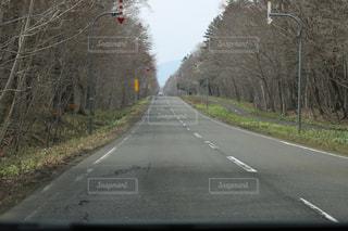 続く道の写真・画像素材[1388971]