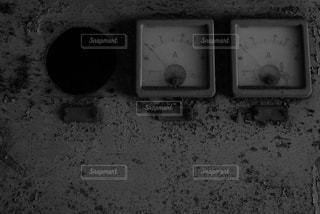 レトロメーターの写真・画像素材[1404580]
