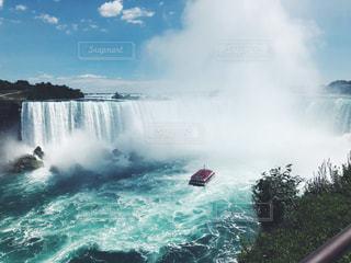 ナイアガラの滝の写真・画像素材[1396992]