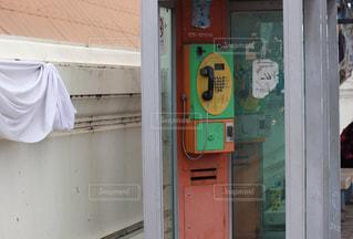 タイの公衆電話の写真・画像素材[1430459]