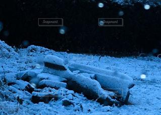 雪の山の写真・画像素材[1778748]