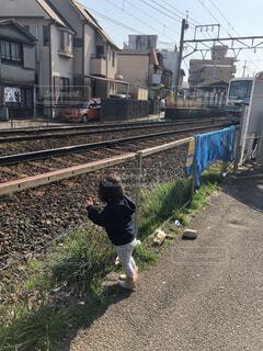 電車待ちの写真・画像素材[4602880]