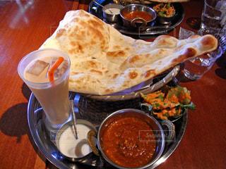 インド料理のターリーの写真・画像素材[1407071]