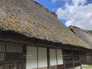 建物の屋根の写真・画像素材[1394049]