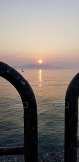 朝日昇るの写真・画像素材[1459445]