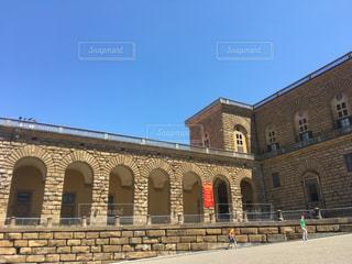 ピッティ宮殿入口の写真・画像素材[1394856]