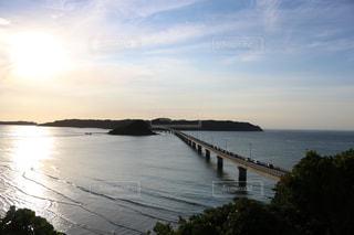 角島大橋の写真・画像素材[1395380]