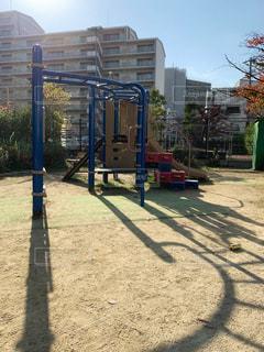 午前中の公園の写真・画像素材[1638152]