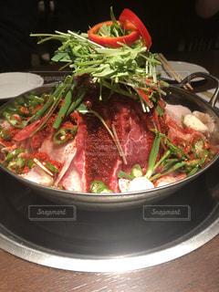 肉鍋の写真・画像素材[1638379]