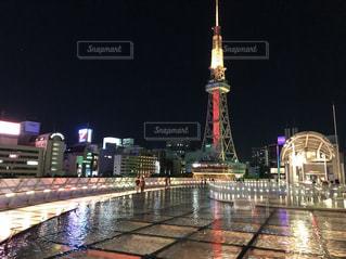 都会の夜景の写真・画像素材[1397371]
