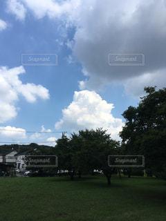空には雲のグループの写真・画像素材[1400316]