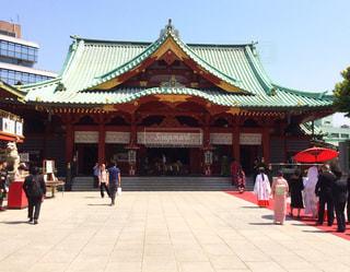 婚礼@神田神社の写真・画像素材[1462816]