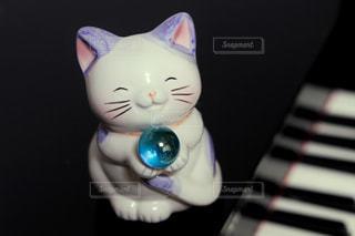 幸せの青い珠、どうぞの写真・画像素材[1498832]