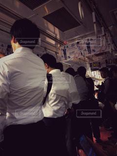 暗い地下鉄の写真・画像素材[1508248]