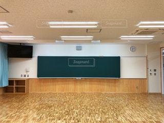 新築の教室、これから子供たちの歴史が始まる!の写真・画像素材[1686841]