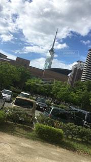 福岡タワーの写真・画像素材[1398638]