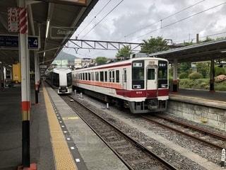 鉄道の駅での写真・画像素材[1399140]
