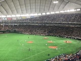 野球観戦の写真・画像素材[2113063]