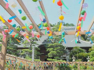 可睡斎風鈴祭りの写真・画像素材[1399011]