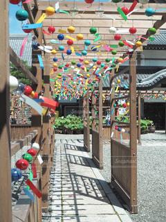 可睡斎風鈴祭りの写真・画像素材[1399017]
