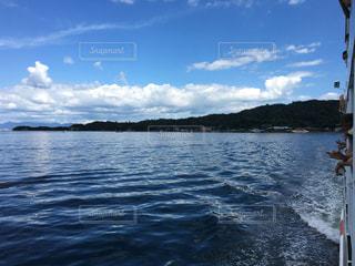 青空と海の写真・画像素材[1399558]