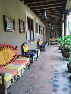 パティオ patioの写真・画像素材[1399636]