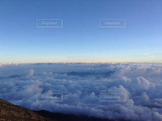 雲の絨毯の写真・画像素材[1407498]