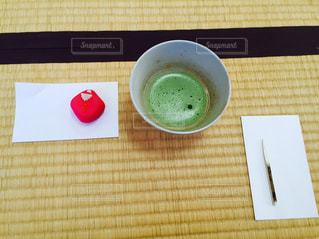 抹茶と和菓子の写真・画像素材[1408821]