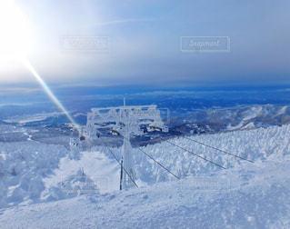 樹氷の写真・画像素材[1400747]